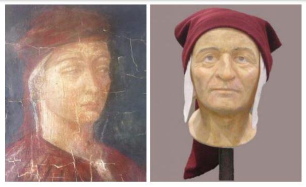 Dante da giovane era bello?