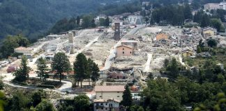 Accumoli e Amatrice. Photo Credit: Yahoo Notizie