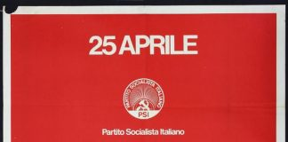 Ettore Vitale Manifesto commemorativo 25 aprile