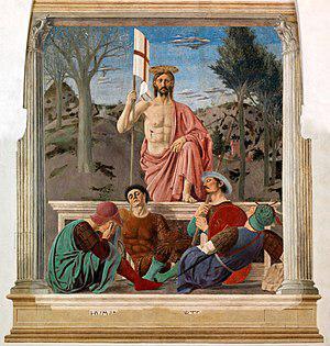 Resurrezione di Cristo di Piero della Francesca