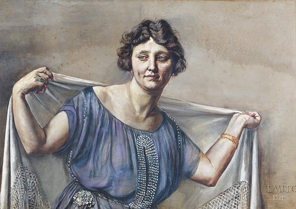 Vincenzo Gemito, Donna con scialle, 1921 Sorrento, Collezione Luciano e Arianna Russo