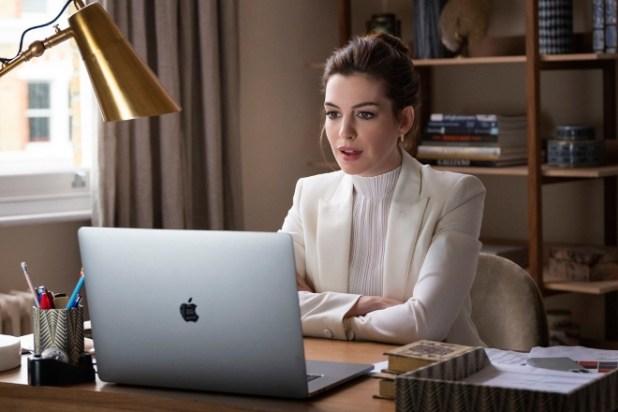Anne-Hathaway-in-Locked-Down